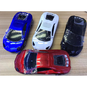 Image 5 - Bluetooth Car Shape Speaker USB TF FM Radio USB MP3 Music Player Stereo Speakers Bass Funny Kid Toy Gift Sound Box for PC Phone