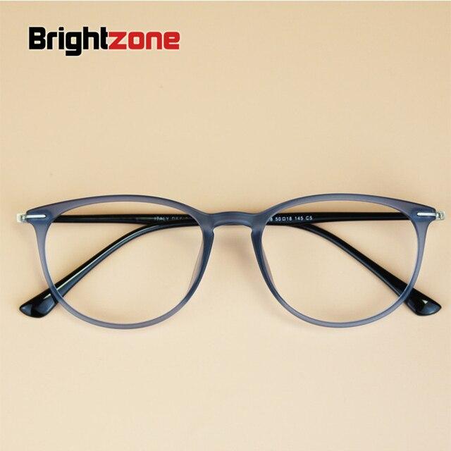 bfed7f997c South Korean Brand Women Vintage Round Ultem Carbon Steel Frame Men Nerd  Myopia Tungsten Optical Eyeglasses Prescription Eyewear