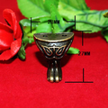 4pcs  28*27mm Antique Brass Vintage Bronze Jewelry Chest Box Wooden Case Decorative Furniture Caster With Screws