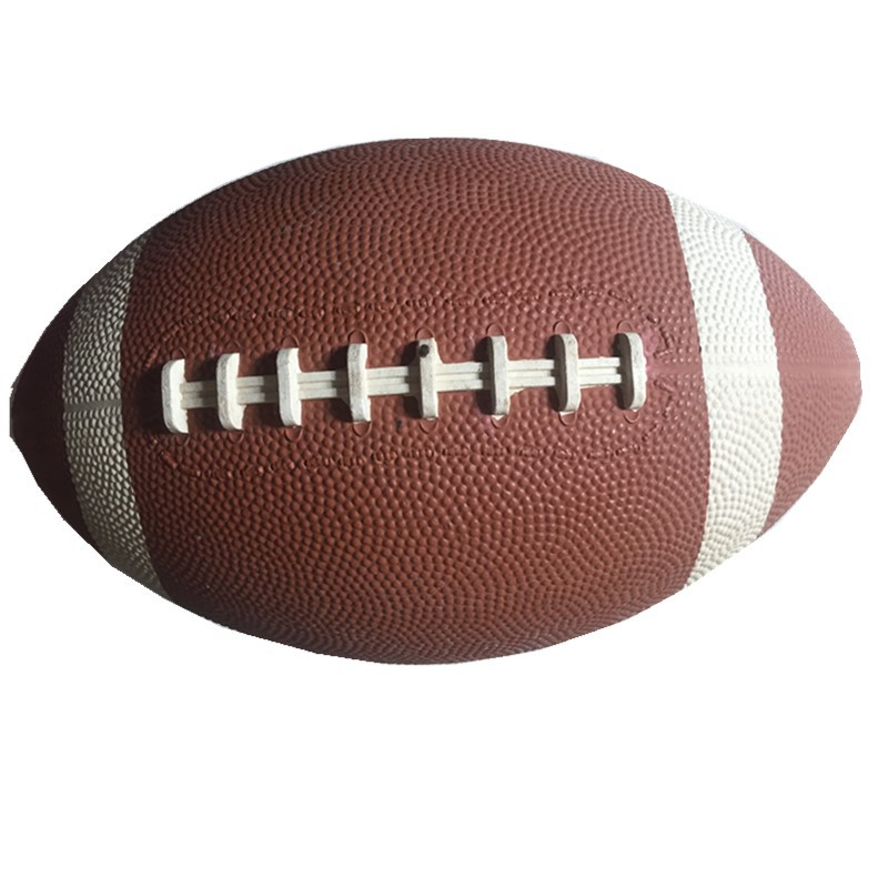 1 Piece PVC Football Ball Sizes 9 # Standard Training And