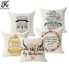Letters, linen, cotton, mattress covers, famous household, sofa, pillow case, office cushion set 45X45CM throw pillows цены