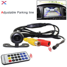 2017 Latest ajustable parking Guide line Car parking camera rear view c