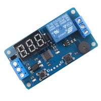 New dc 12v led display digital delay timer relay control switch module plc automation.jpg 200x200