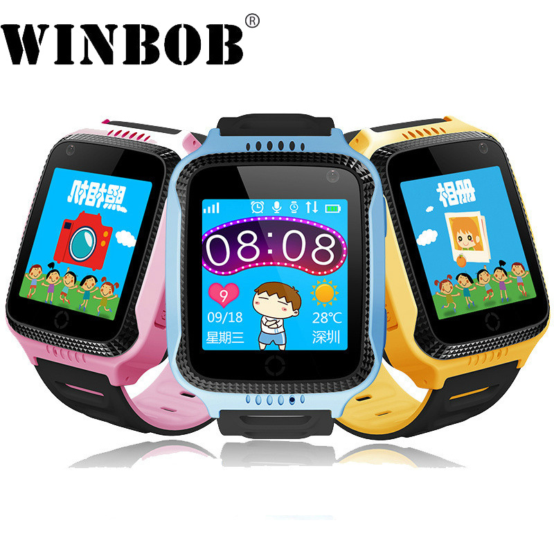 Q528 Y21 Kid GPS Montre Smart Watch Avec lampe de Poche Bébé Montre SOS Appel Dispositif de Localisation Tracker pour Enfants pk Sûr q90 q100 q50 df25 df27