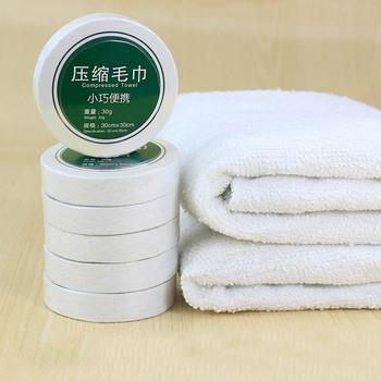 Ręcznik skompresowany myjka do twarzy przenośna miękka do podróży Camping Outdoor 2019ing tanie i dobre opinie DUSTPROOFVEIL Zestaw ręczników Zwykły Włókniny Plac 161549 Jednorazowe Sprężone 5 s-10 s Stałe Tkanina z mikrofibry
