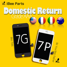 IBee 부품 10PCS 상위 판매 아이폰 7 7 플러스 LCD 화면 상위 학년 AAA 유리 터치 스크린 디지타이저 교체 무료 DHL