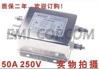 AN-50A4EB 50A 250V EMI Filter AC Noise Filter Frequency Components Connector