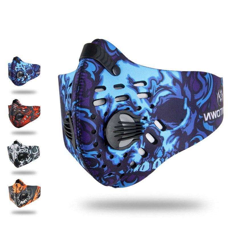 Arbeitsplatz Sicherheit Liefert Neue Mode Hohe Qualität Universal Winddicht Anti Pollen Aktivkohle Halbe Gesicht Maske Staub Filter Outdoor Sports Lauf Woking Tragen 100% Garantie