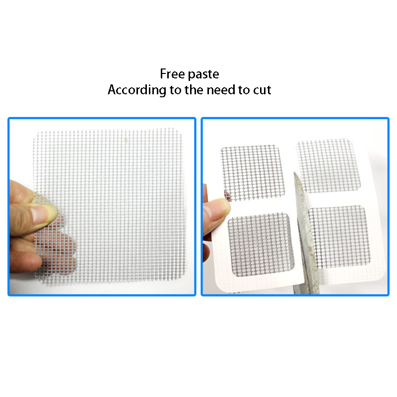 20pcs/Set Screen Repair Stickers Fix Net Mesh Window Screen for Home Anti Mosquito Fly Bug Repair Screen Patch Stickers 2