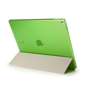 Image 4 - Case Voor Ipad Pro 12.9 2015 2017 Release, pu Leer Tri Fold Staande Hard Back Smart Cover Voor Ipad Pro 12.9 Case 2020 2018