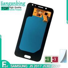 Nowy super amoled lcd J5 2017 J530 SM-J530F J530M wyświetlacz 100 testowane działa zespół ekranu dotykowego do Samsung Galaxy J530 lcd tanie tanio lianganbing CN (pochodzenie) Pojemnościowy ekran 1280x720 3 LCD i ekran dotykowy Digitizer For Samsung Galaxy J5 2017 J530 SM-J530F J530M