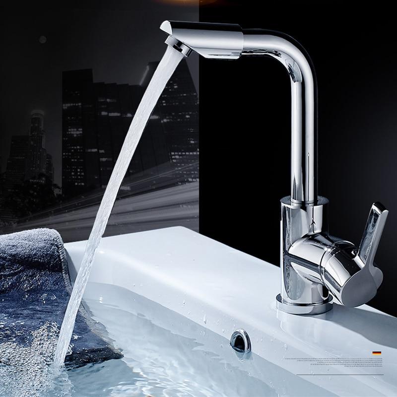 COROTO High Quality Bathroom Faucets Mixer 360 Degree Swivel Easy ...