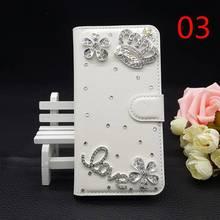 25 Стилей Для HTC Desire 601 Bling Роскошные Ручной Телефон Case блеск Перлы Rhinestone PU Кожаный Чехол Флип Бумажник Case Сумки 3D