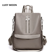 Top Quality Women Backpacks Travel Large Capacity Oxford Backpack Double Zipper Multi-function School Shoulder Bags Female