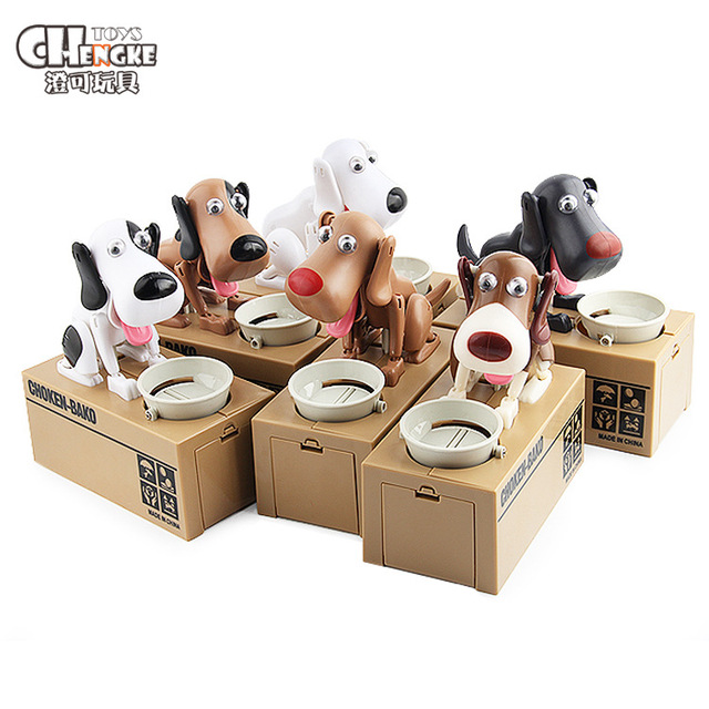 Interesting Children S Piggy Bank Toy Dog Electric Model