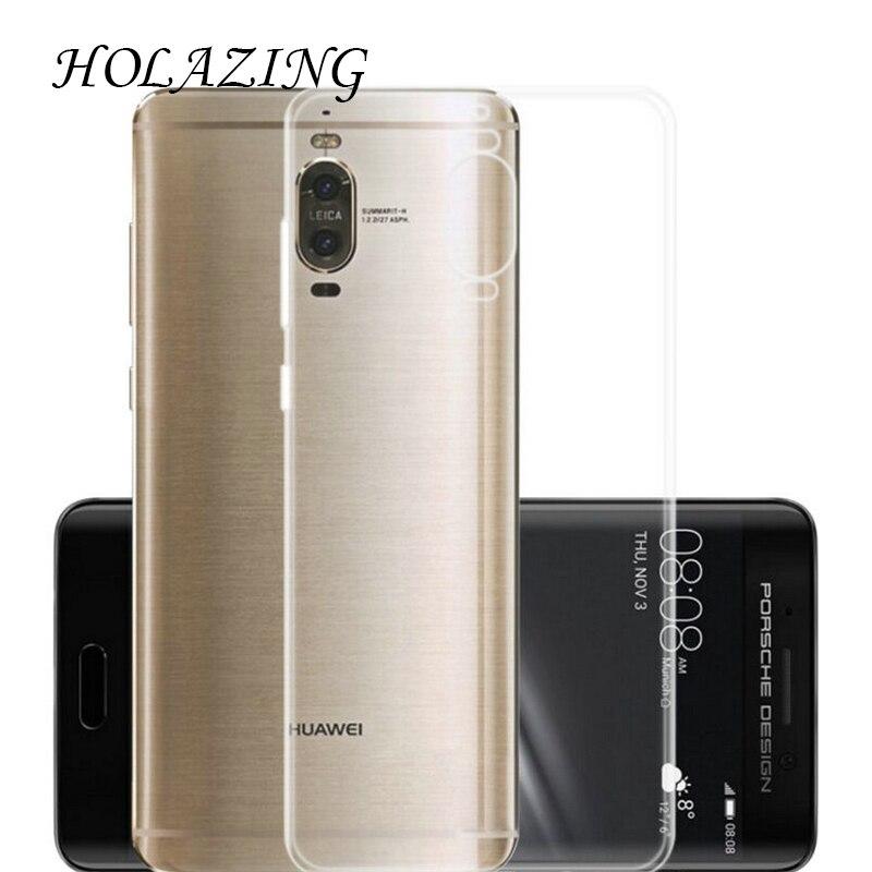 Holazing оптовая продажа прозрачный гель ТПУ Резиновая Мягкий силиконовый чехол для Huawei Коврики 9 Pro Ультра тонкий защитная крышка кожи