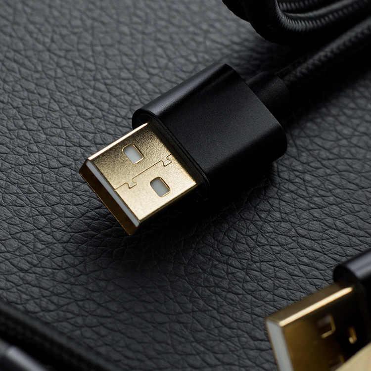 20 قطعة/السلع المصغّر usb كابل 2.4A سريع شحن كابل بيانات ل Xiaomi Redmi ملاحظة 5 هواوي HTC الهاتف المحمول شاحن المصغّر usb كابل