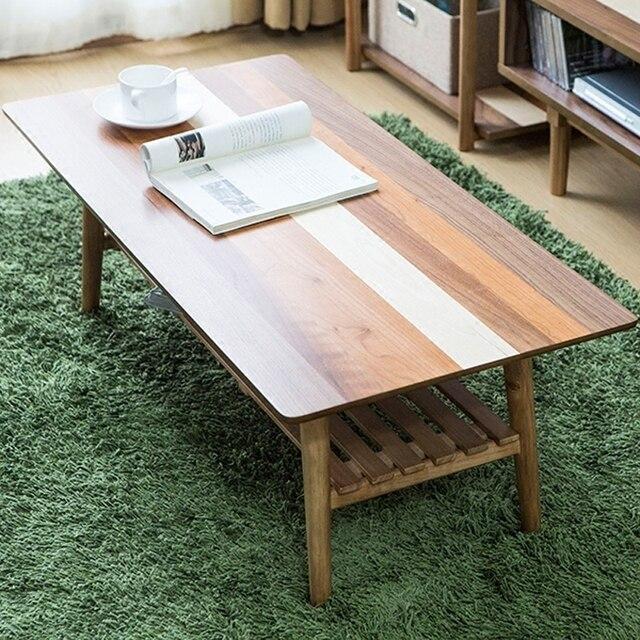 Meubles De Salon Jambes Pliantes Contemparay Table Basse Basse Centrale Moderne Maison Console En Bois Canape Table D Appoint