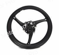 Front Wheel Rim For Suzuki GSXR 1000 2009 2016 Motorcycle CNC Aluminum GSX R GSX R 600 750 2010 2011 2012 2013 2014 2015 BLACK