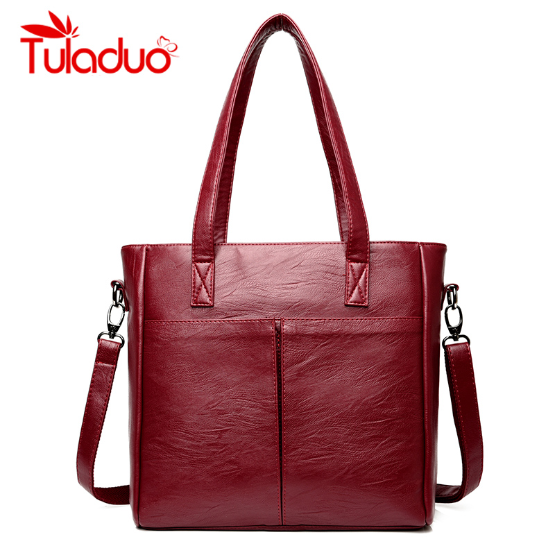Luxury Handbags Women Bags Designer Soft Leather Casual Tote Bag Femal Shoulder Bag High Quality Ladies Large Capacity Handbag famous brand women handbags pu leather bag women tote high quality ladies shoulder bags large capacity ladies top handle bags