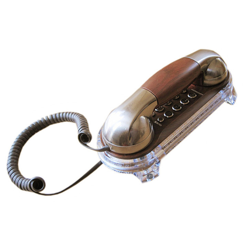 Fashion Wall Mounted Telephone Corded Phone Landline Antique Retro Telephones For Home Hotel Small Extension Telephone
