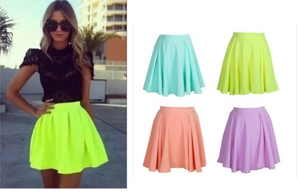 free shipping 2014 spring and summer sty nda multicolour candy ...