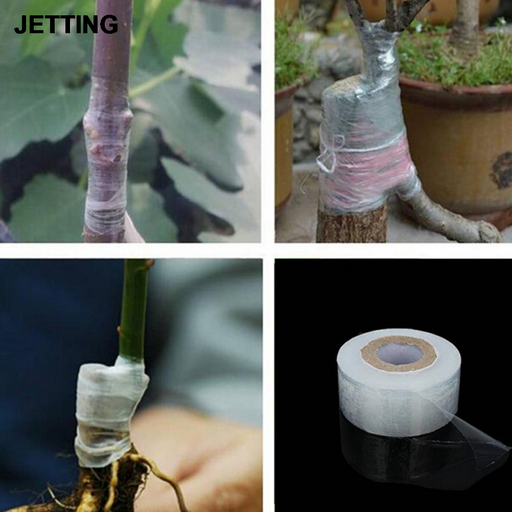 Roll Tape Parafilm Pruning Strecth Graft Budding Barrier Floristry Pruner Plant Fruit Tree Nursery Moisture Garden Repair Seedle