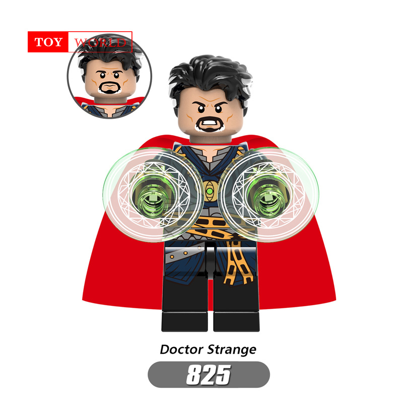 For Marvels Superhero Avengers Alliance 3 Doctor Strange Hulk God of thunder Legoingly Building Blocks Toys Figures