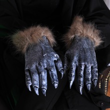 aiboully halloween props 1 pair werewolf wolf paws claws