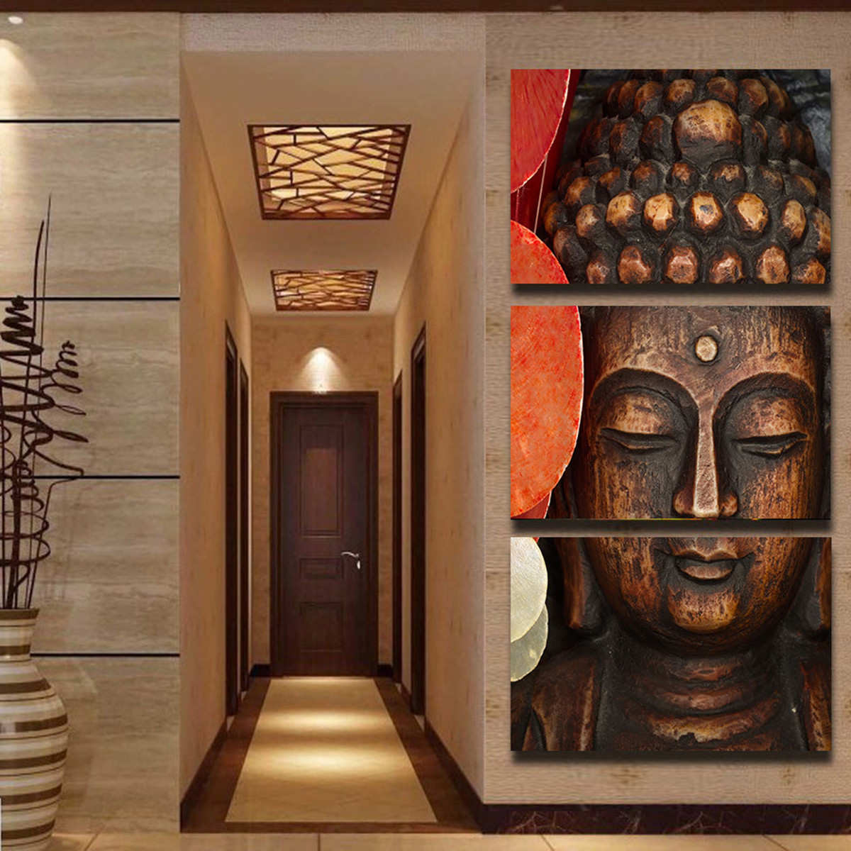 Buddha Wall Decor 3d buddha wall decor promotion-shop for promotional 3d buddha wall