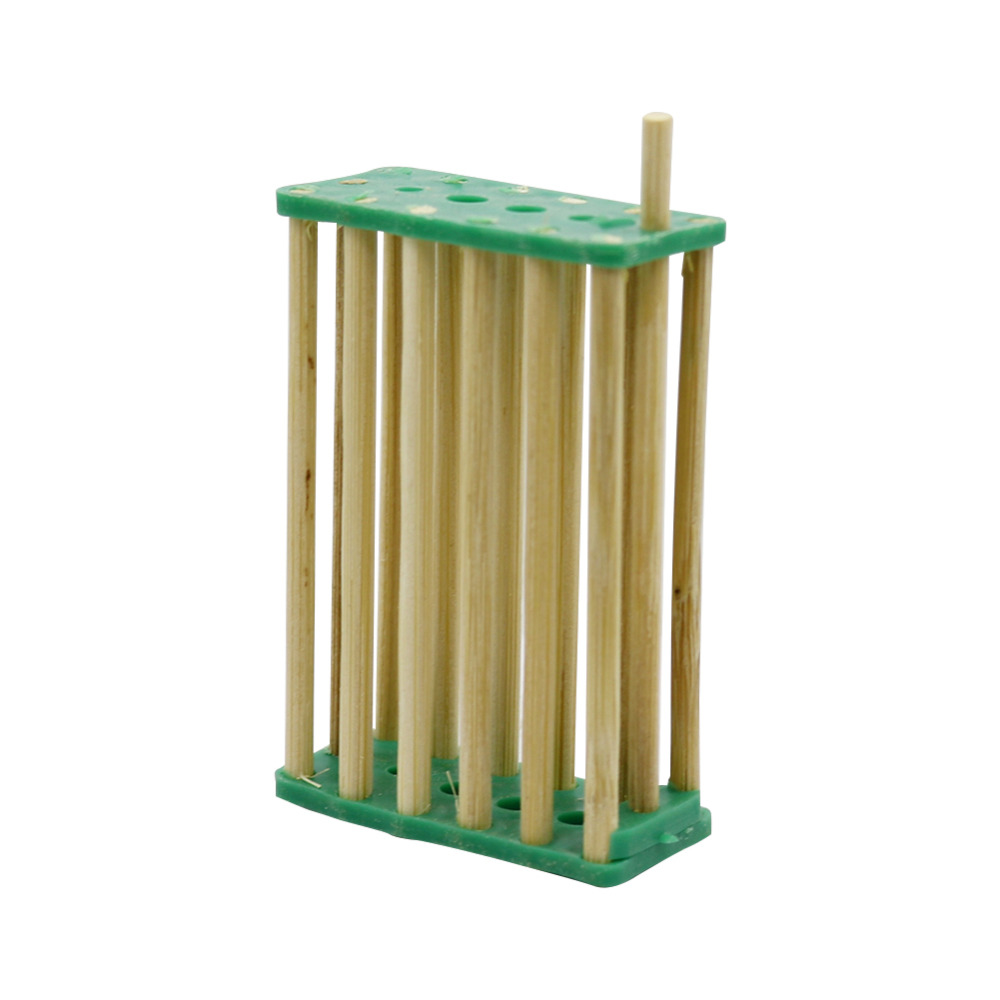 Bee Nest Bamboo Queen Bee Isolation Transport Cage Beekeeping Tools For Apiculture Beekeeper 50 Pcs