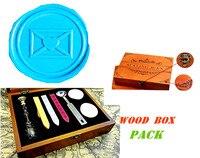 Vintage Love Heart Letter Luxury Wax Seal Sealing Stamp Brass Peacock Metal Handle Sticks Melting Spoon