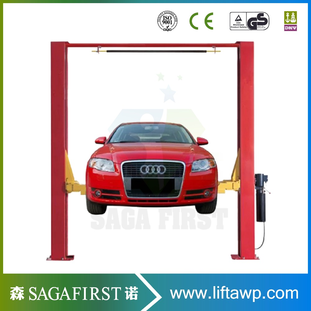 Hydraulic Two Post Garage Repair Car Vehicle Auto Lifts