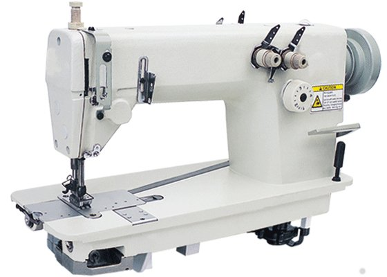 Single Double Needle Flatbed Chain Stitch Sewing Machine