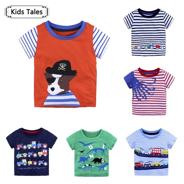 For Small Boys Tops Children s T-shirts 2018 Branded Summer Children s  T-shirt for Clothing Boys Cotton T-shirt for Kids SC084 cc1b5dc22d