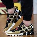 Hot Sale Spring Autumn Men Casual Shoes Fashion Classic Style Canvas Shoes Breathable Patchwork Men Lace-up Trainer Shoes