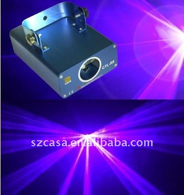 Stage lights 100mW 405nm Violet laser dj equipment for disco party