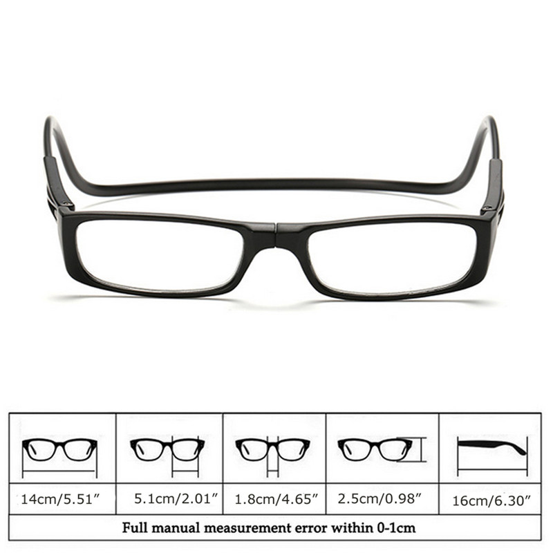7afce670e6e5 1PC Magnet Reading Glasses Adjustable Hanging Neck Presbyopic Glasses  Unisex-in Reading Glasses from Apparel Accessories on Aliexpress.com