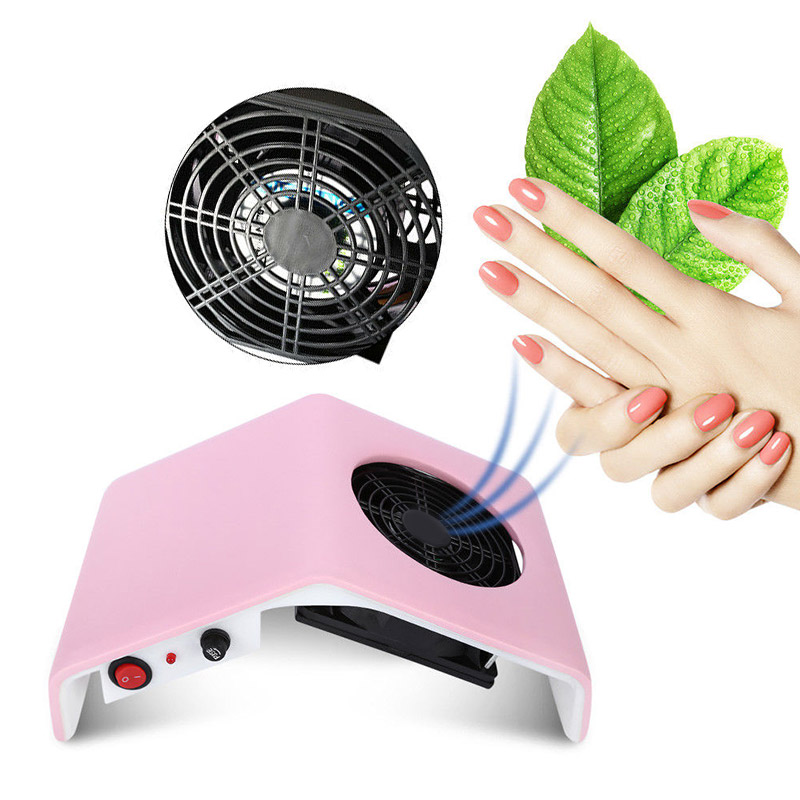 Hot Nail Dust Suction Dust Collector Fan Vacuum Cleaner Manicure Machine Tools Dust Collecting Bag Nail Art Manicure Salon Tools