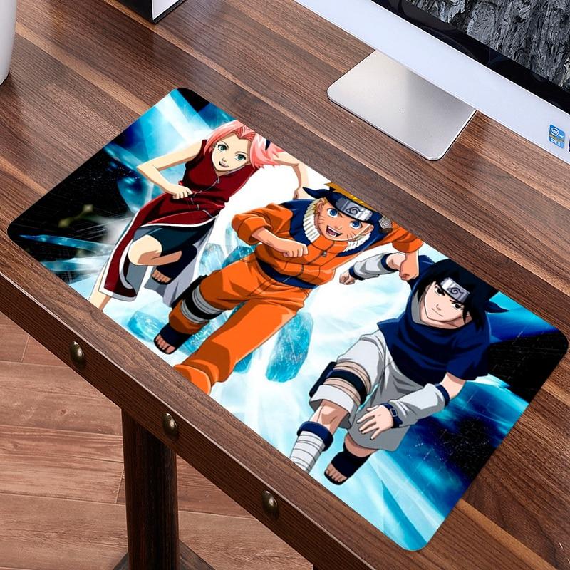 SIANCS 80x40 см XL коврик для мыши Наруто Япония аниме большой Мышь pad Высокое качество Ноутбук gaming keyboard красивые стол коврик ...
