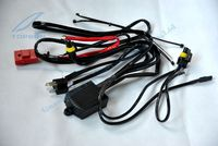 Car Styling 12V 35W 55W HID Xenon Headlight Bi Xenon Bulb H4 H4 3 Relay Harness