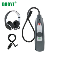 DUOYI DY26A Ultrasonic Leak Detector Car Window Sealing Flaw Detection Gas Vaccum Pressure Locator Air Water Dust Leak Detector