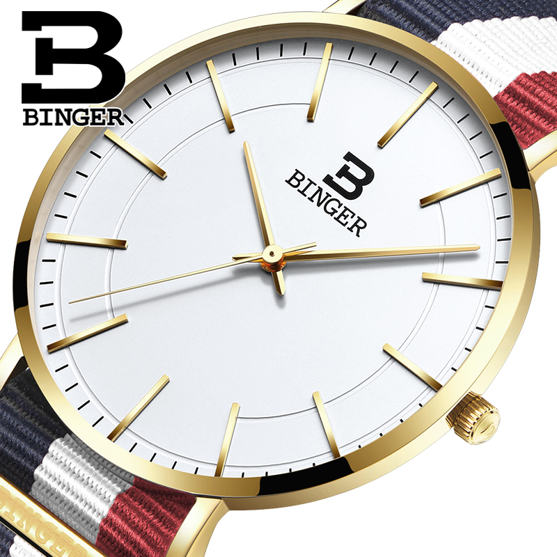 Classic Simple Designer Couples Nylon Watches Japan Quartz Lovers Canvas Wristwatch Colorful Stripes Bracelet Watch Unisex Reloj