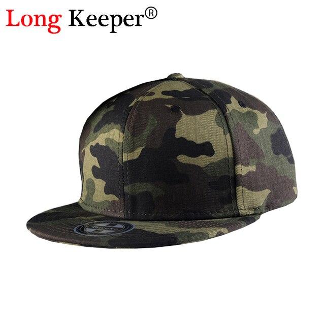 5cb64f617feb € 6.38 40% de DESCUENTO Long Keeper CAMO gorra de béisbol hombres SnapBack  sombreros para hombres 2016 Nuevo gorras planas hip hop Caza tapas ...