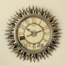 Large wall clock resin fashion quality home accessories mute