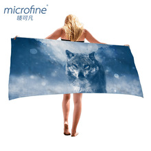 Microfine 100x180 Large Bath Towel Luxury Brand Beach Towel Rectangle Gym Yoga Mat Microfiber Outside Picnic Blanket For Summer