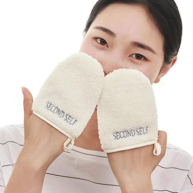 1pc Fantastic Remover Fiber Glove Reusable Facial Cleaning Microfiber Face Cloth Makeup Towel Beauty Cosmetics Tool YE3