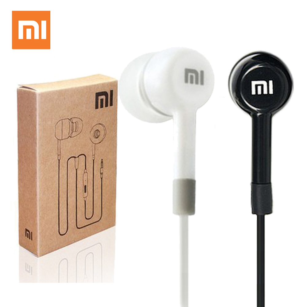 Xiaomi Earphone-In-Ear MIC Wired-Control iPhone iPod Huawei Sony Samsung Original