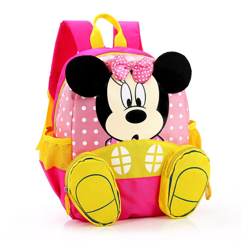 Waterproof Cartoon mickey backpacks/ kids baby bags backpacks for children/kid school bags/Satchel for boys and girls