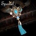 Enropean special nueva moda collares y colgantes de piedra natural de la vendimia a largo collar de regalo de la joyería de concha de mar para las mujeres s1627n